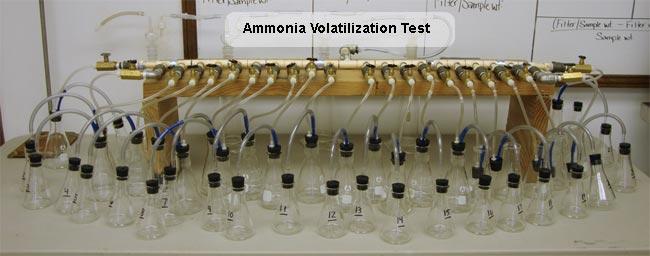 ammonia-volatilization